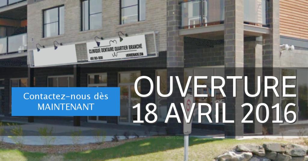 Ouverture officielle le 18 avril 2016